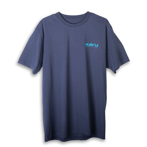 Klear Above Etch Art Tee ombre blue