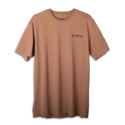 Moon Phase Tee cocoa brown