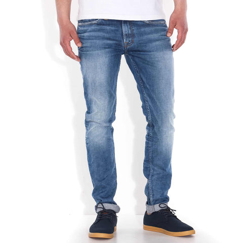 James Jeans Skinny Fit electric creased