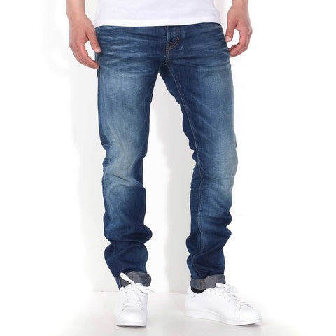Charles Slim Fit Jeans linen worn