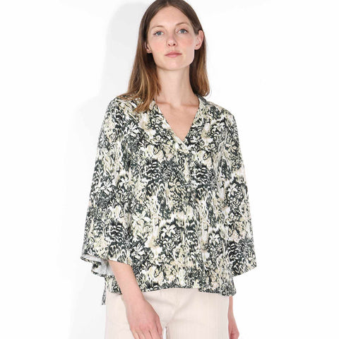 Branda Blouse deep forest