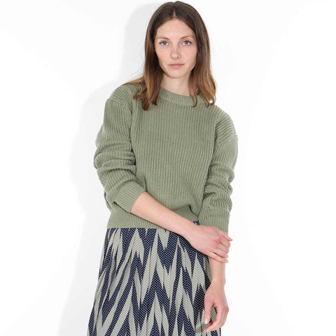 Mikala Jumper oil green
