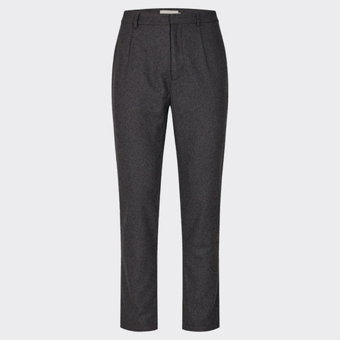 Maro Wool Pants grey melange