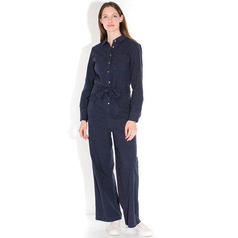 Kennedy LS Jumpsuit sky captain