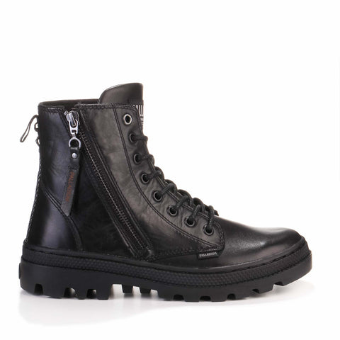 Pallabossa Hi Zip LTH black/black