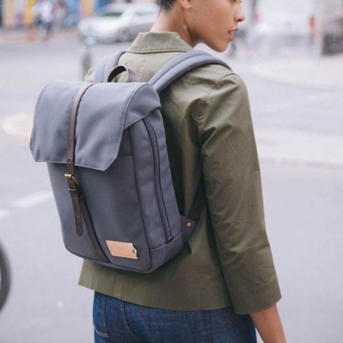 Charlie 12h Backpack stone blue/dark brown