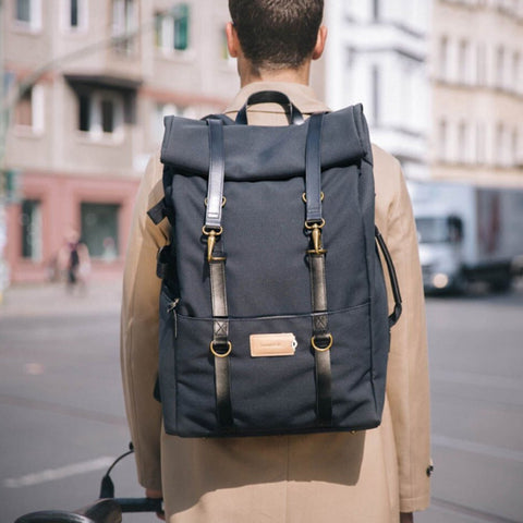 Karl 48h+ Travel Backpack midnight black/black