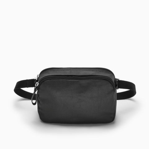 Hip Bag organic jet black
