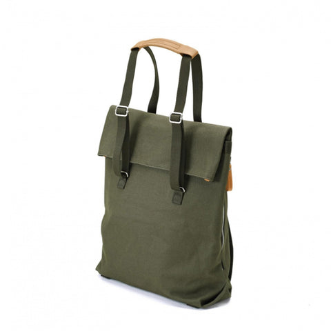 Day Tote organic forest green 16L