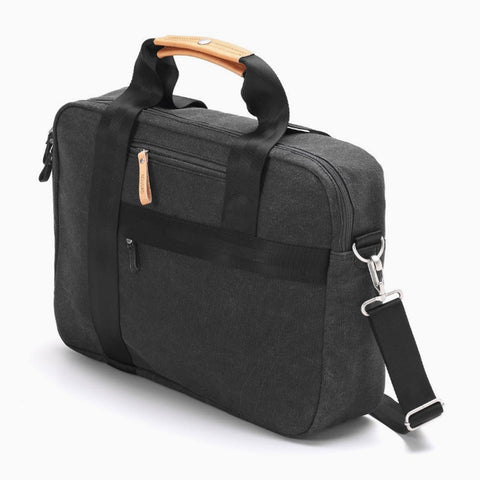 Office Bag organic washed black