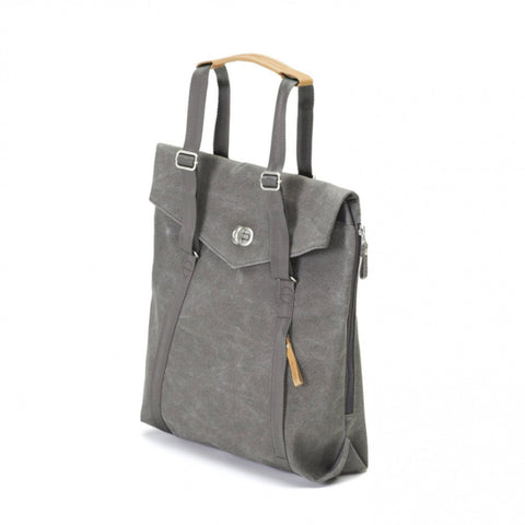 Tote Backpack organic washed grey 13L