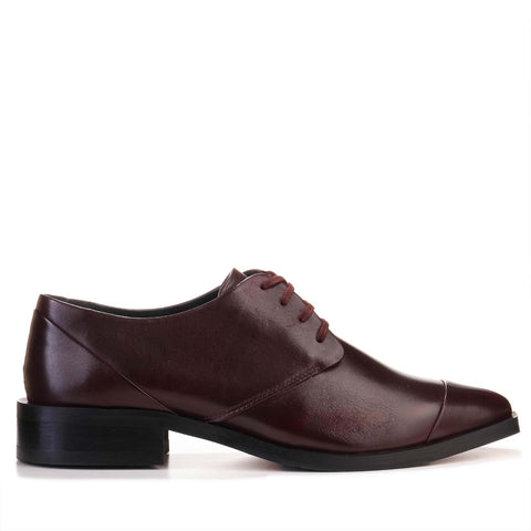 Prime Square Derby Shoe bordeaux