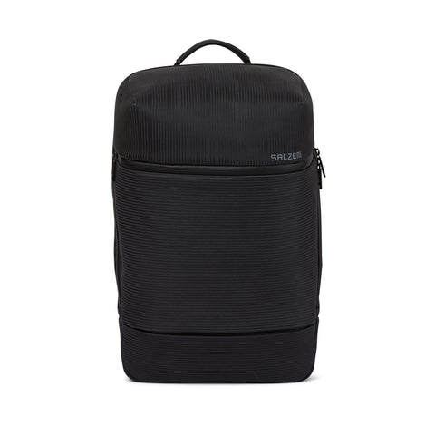 Savvy Leather Backpack aligned smoke