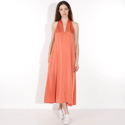 Cille Dress apricot brandy