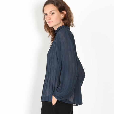 Lady LS Blouse midnight navy