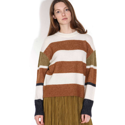 Anour CB ST Crew Neck Jumper argan oil