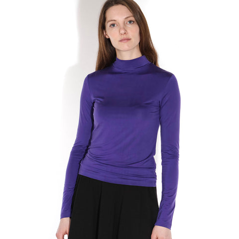 Katrin LS Turtleneck Top deep blue