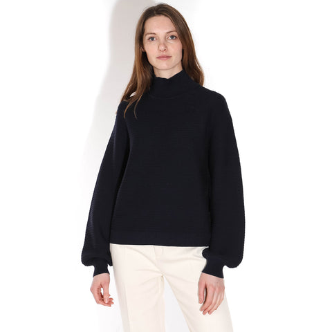 Lene Turtleneck Jumper night sky