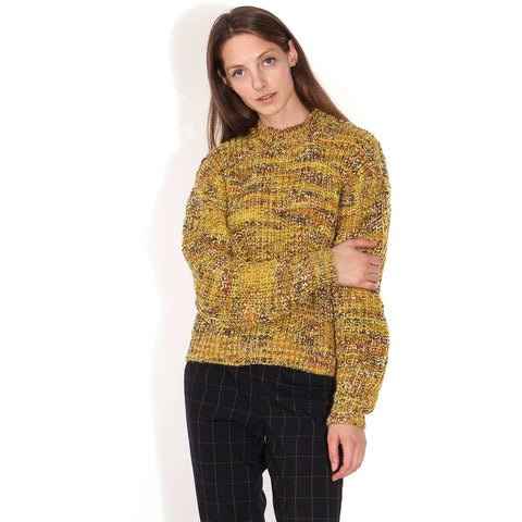 Nuria O-N Jumper lemon curry melange