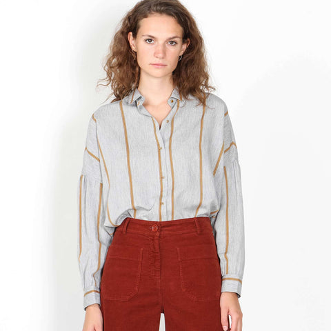 Botan Blouse goldengrey