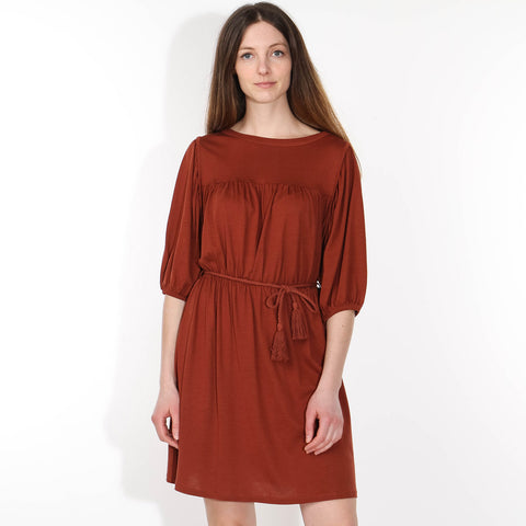 Charlotte Dress terre brulée