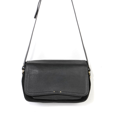 Tano Leather Bag black