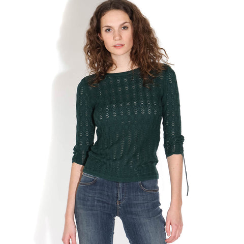 Flore Jumper june green
