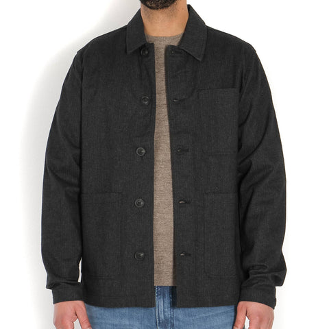Milton ShirtJacket dark grey
