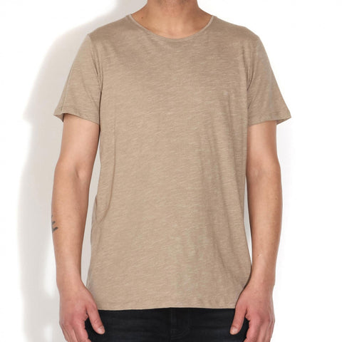 Newport T-Shirt dark sand
