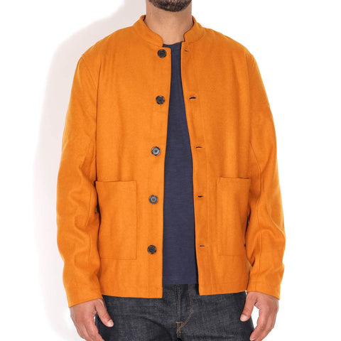 Enok Wool Jacket burned yellow