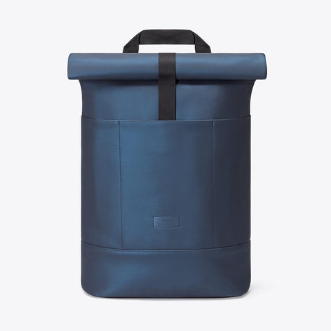 Hajo Metallic Backpack dark navy