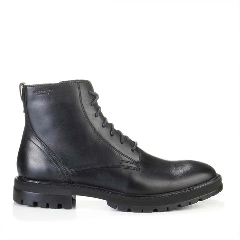 Johnny Laced Boots black
