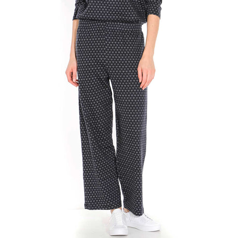 Nuro Trousers dark navy-off white