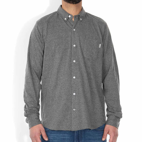 Shaw Shirt dark grey melange