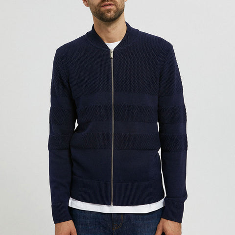 Zaapa Contrast Jacket depth navy
