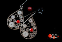 "Load image into Gallery viewer, Boucles d'oreille filigrane ""Bulbujas"""