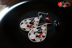 "Boucles d'oreille filigrane ""Bulbujas"""