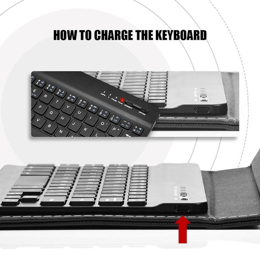 DuoPro™ Wireless Bluetooth Keyboard and Protective Case