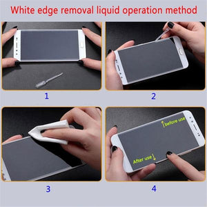 Tempered Glass White Edge Remover