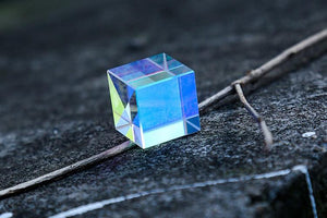 Optical Rainbow Glass Prism