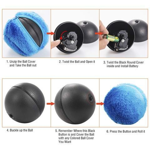Anti-Anxiety Energy Release Pet Ball