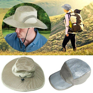 Sun-Reflecting Cooling Hat