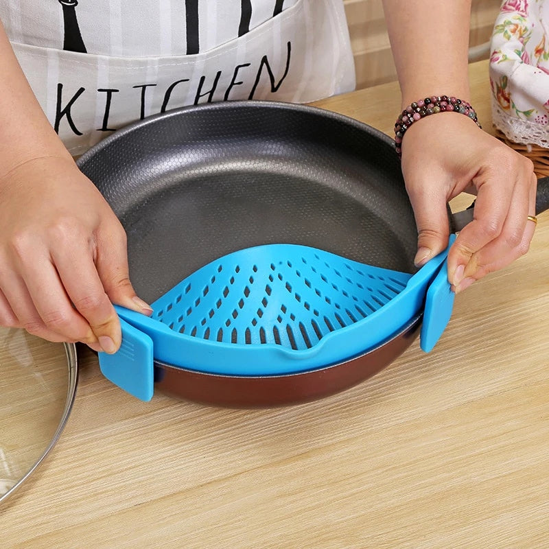 Universal Clip-on Pot Strainer