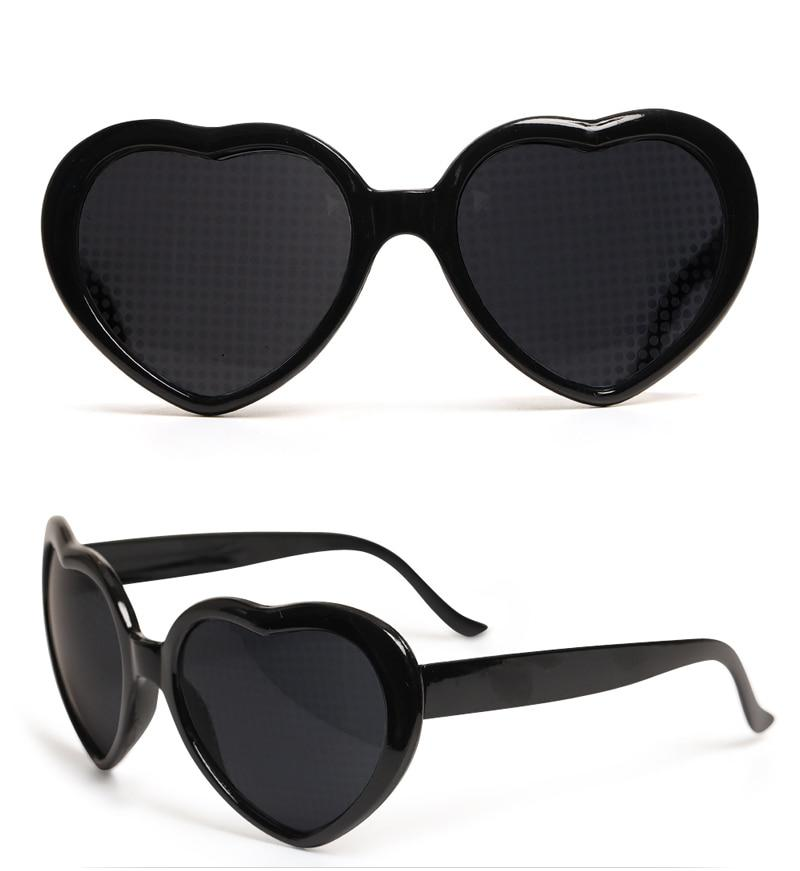 Heart Effect Diffraction Glasses