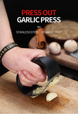 Magic Rocking Garlic Press