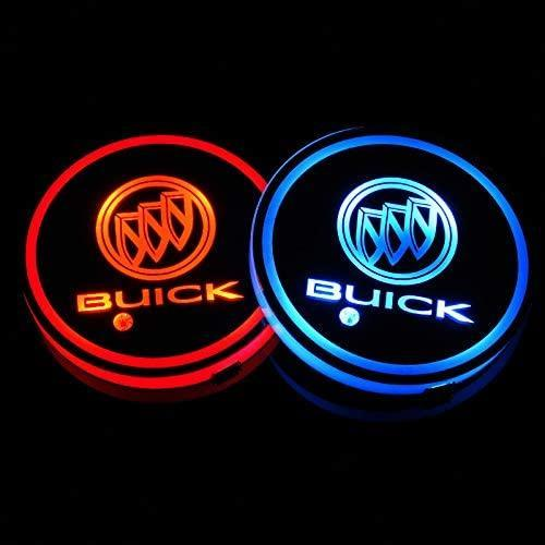 LED Car Cup Holder Pads