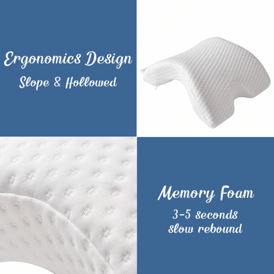 Zero Pressure Memory Foam Pillow