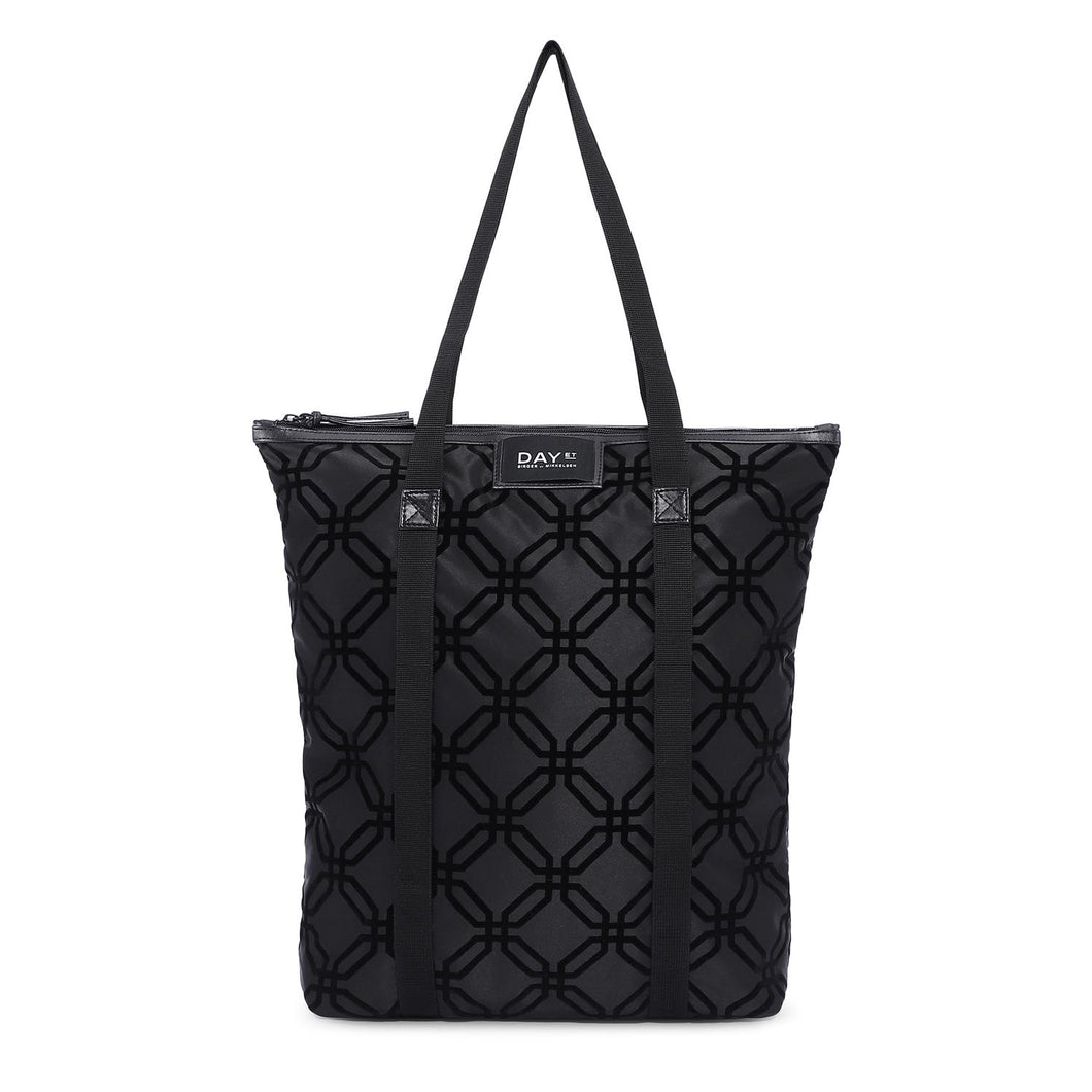 ET Day Gweneth F Octagon Tote Black