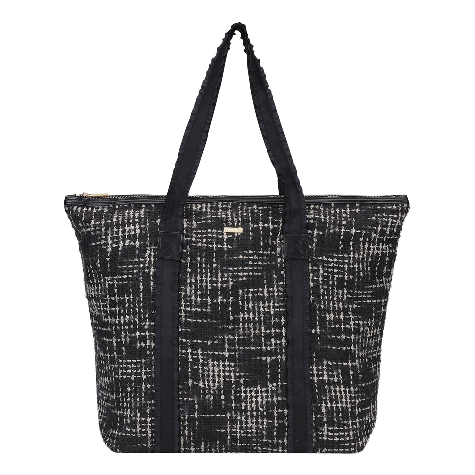 ET DAY Gweneth Tweed Bag Forged Iron Grey