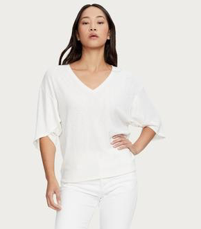 Jayden Top with Wrap Sleeves
